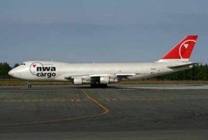 Northwest Airlines Freighter