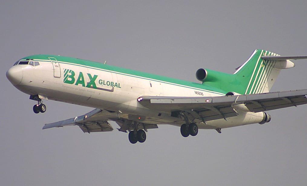 BAX 727F. Gone.