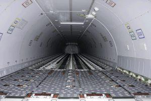 Boeing 767F Cargo Bay