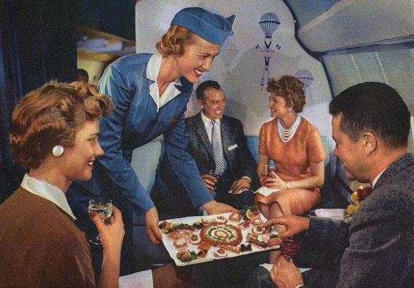 Vintage Airline Photo