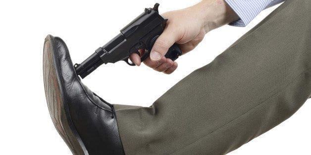 China tariffs are like shooting yourself in the foot!